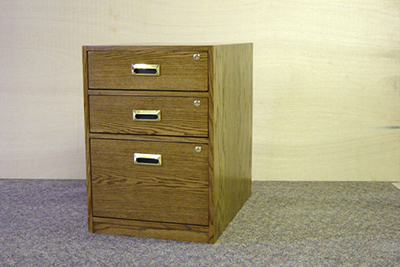 All drawers have full extension drawer rollers. Legal size drawers are available - total width is changed to 19 . & Office Desks
